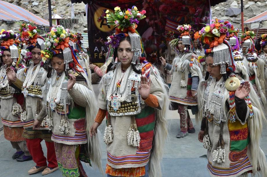 Two days Aryan Folk festival concludes in Garkhone