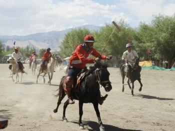 3rd Ladakh Polo festival begins in Chuchot