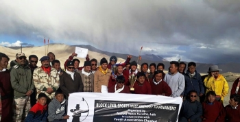 Pangong Warriors clinches the Archery champion trophy