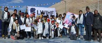 LWHIF organizes Ice skating camp in Gya