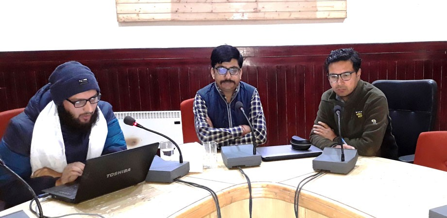 Training for implementation of 'JKPaySys' application held in Leh