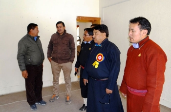 EC Wangyal holds review meeting of all departments in Tangtse
