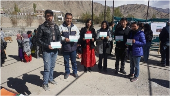 Exhibition on Ladakhi proverbs held at EJM College