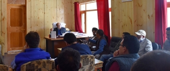 Hill Council, Kargil, reviews work on various projects for timely completion