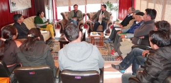 Avny Lavasa convenes meeting with stakeholders of service industry in Leh