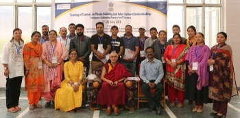 Training held for cultivating peace in 21st century in CIBS