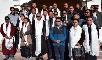 Congress wins all 13 wards in Municipal Committee elections in Leh