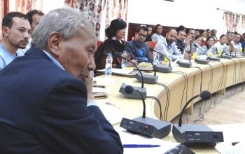 Workshop on 'Scheme of Fund for Regeneration of Traditional Industries' held in Leh