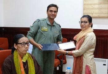 Workshop on 'Updation of District Disaster Management Plan' held in Leh