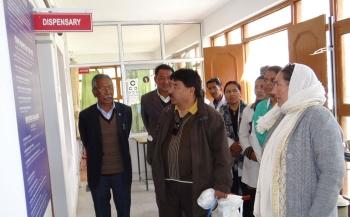 EC Gyal Wangyal aims at improving rural health facilities