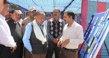 Training imparted to grow and conserve Juniper in Leh