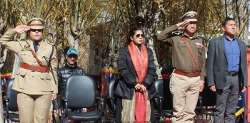 District Police Leh observes Police Commemoration Day