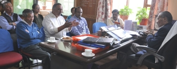 Ladakh Farmers and Producers Cooperative Ltd. meeting held