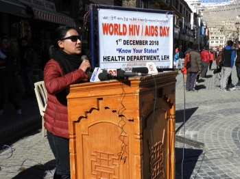 Leh reports 49 HIV-infected patients
