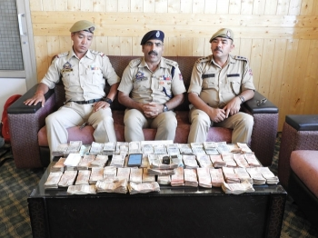Three juveniles held, cash stolen from Shey mosque recovered