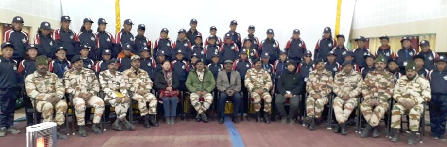 37th Battalion ITBP organises Bharat Darshan tour for school students