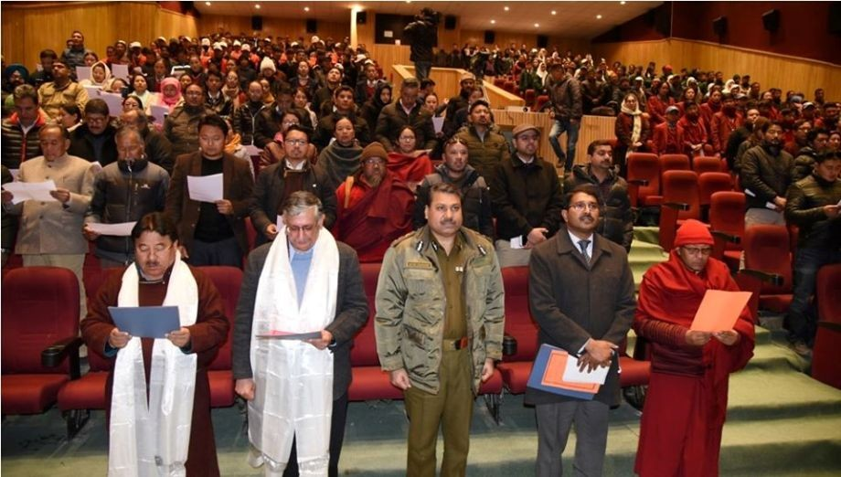 Leh celebrates Constitution day with fervor