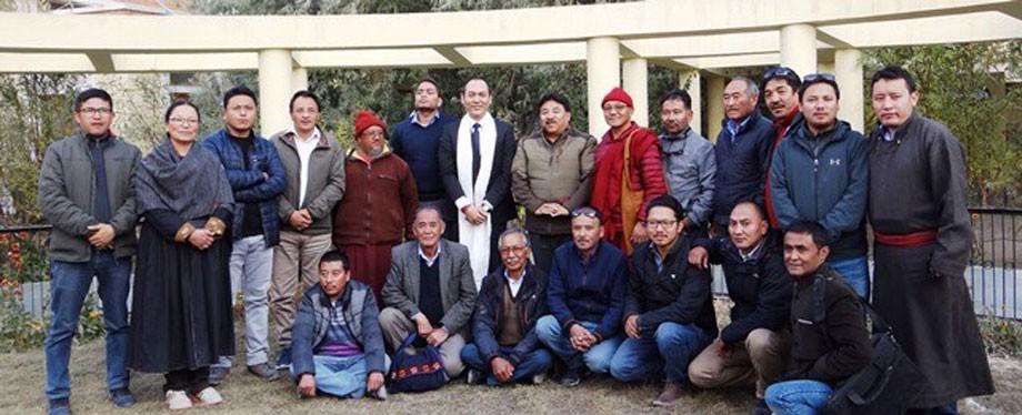 Hill Council, Leh welcomes Commissioner Secretary Rigzin Samphel