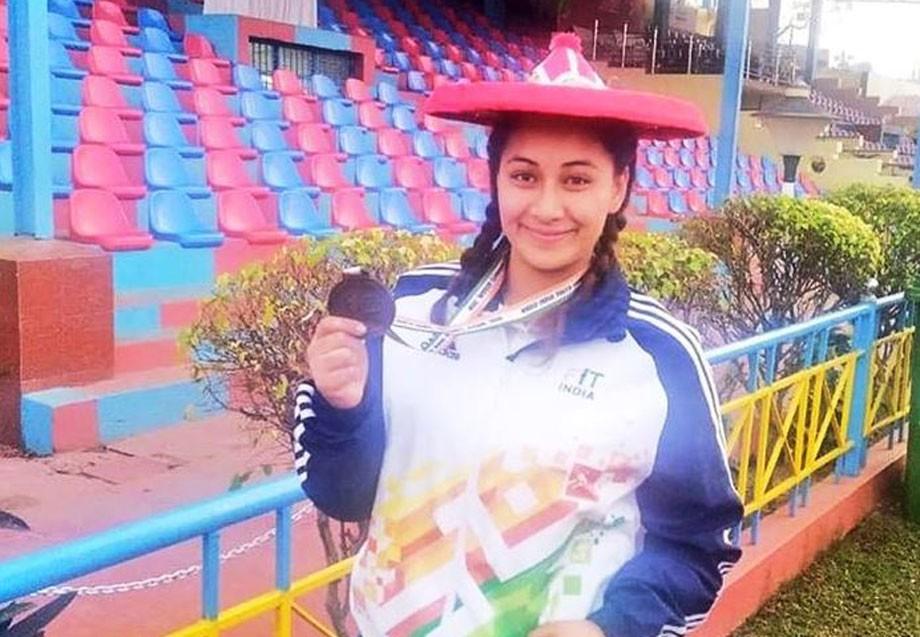 Ladakhi girl Farhana Eliyas wins bronze medal at Khelo India Youth Games, 2020