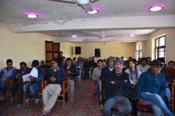 Multilingual poetic session held in Kargil