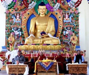 Dharma Centre inaugurated in Choglamsar