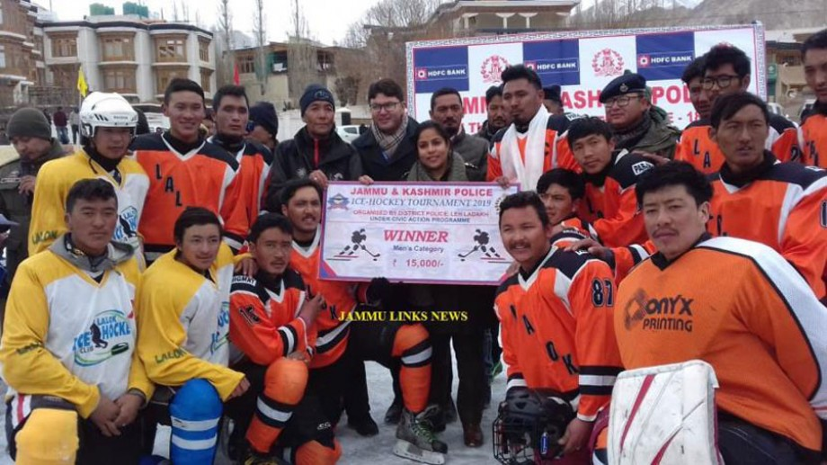 J&K Police first Ice Hockey Championship 2019 concludes