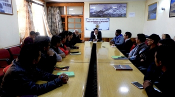 Film lovers get cinematography training course in Leh