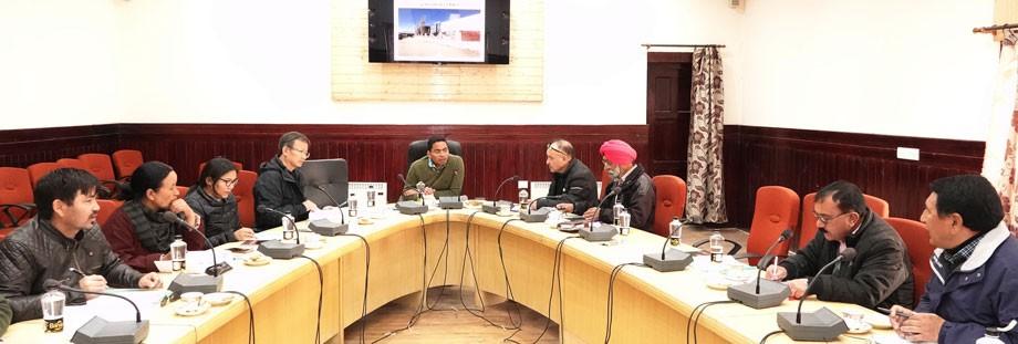 ADC, Leh convenes Rogi Kalyan Samiti meeting in Leh