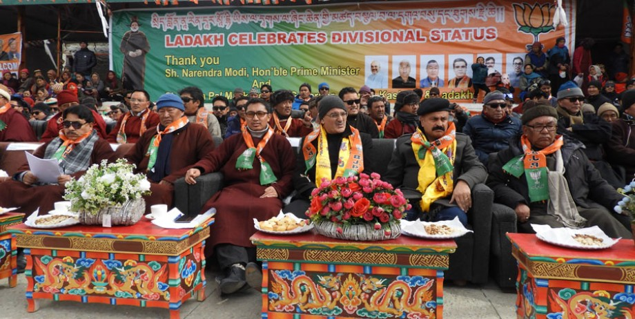 Ladakh gets divisional status; welcomes divisional commissioner Saugat Biswas