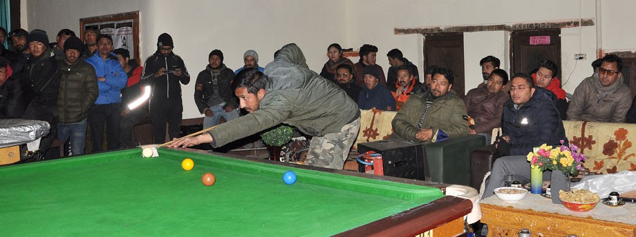 First Sonam Skalzang memorial snooker championship held in Leh