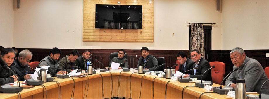 Jamyang Tsering Namgyal reviews DISHA meet