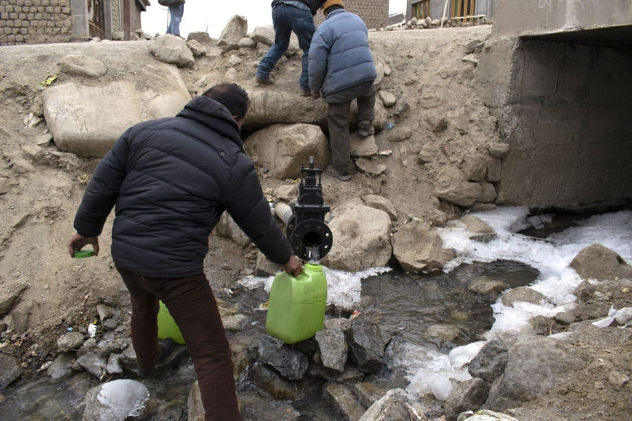 In the past, we used to drink directly from streams. It's unthinkable now: Leh residents