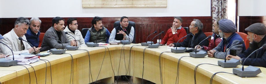 Meeting held for upcoming Block Development Council elections