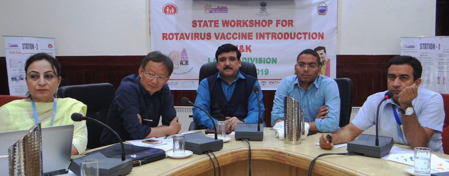 State-level workshop on Rota virus vaccine held in Leh