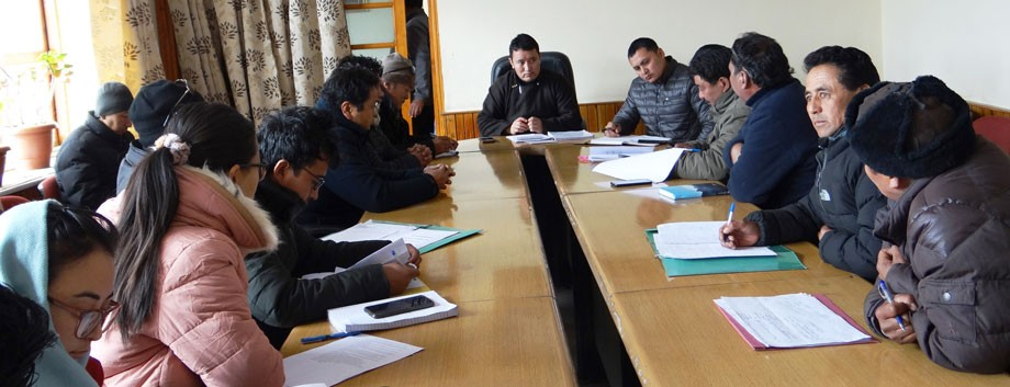 EC Konchok directs Sheep Husbandry Deptt, Leh, to come up with comprehensive project