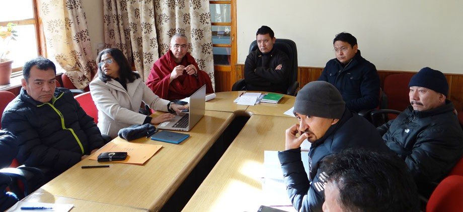 Hill Council, Leh, reviews education policy