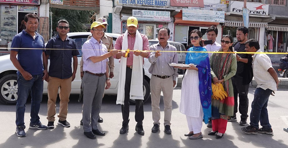 Health Department, Leh, initiates 'Yellow Line Campaign'