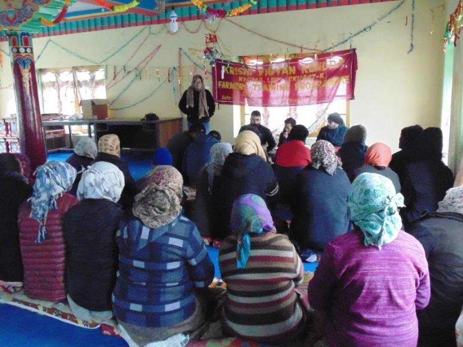 Krishi Vigyan Kendra, Nyoma visits villages of Durbuk block