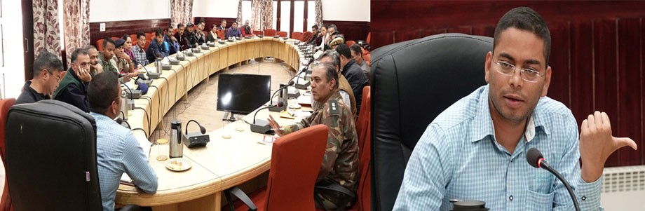 Sachin Kumar reviews disaster preparedness measures in Leh