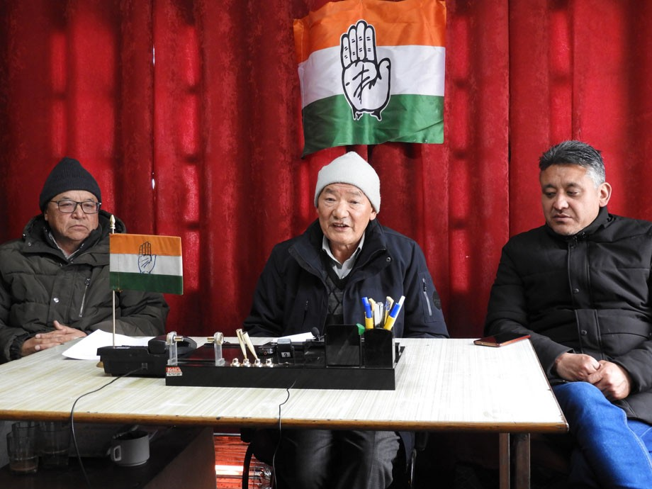 District Congress Committee, Leh demands equal share from J&K assets