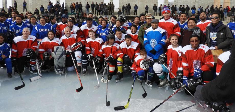 UNFCC and Ranstad India organises 'The Last Game' in Leh