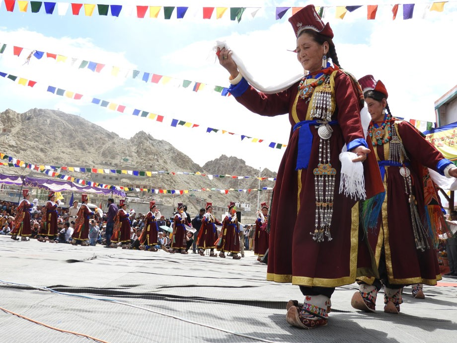 Four days of Ladakh Festival, a cultural extravaganza, celebrated