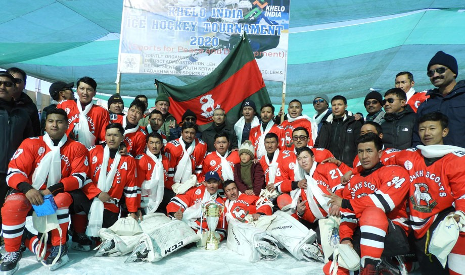 Khelo India Ice hockey tournament 2020: Ladakh Scout beat ITBP with 3-2 goals
