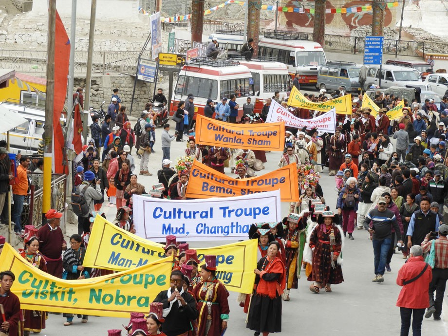 Ladakh festival from 1st to 4th Sept.