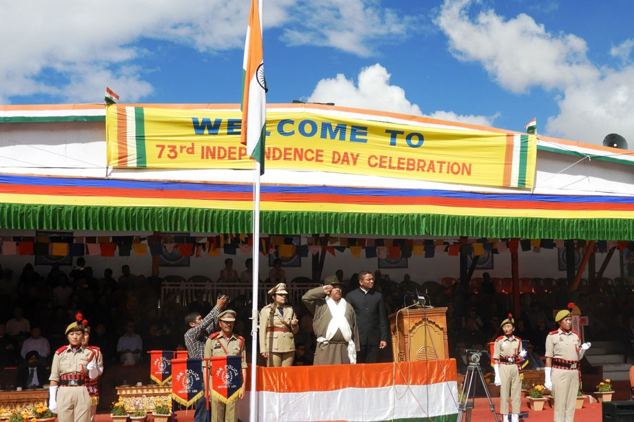 Ladakh celebrates 73rd Independence Day with great enthusiasm and fervour