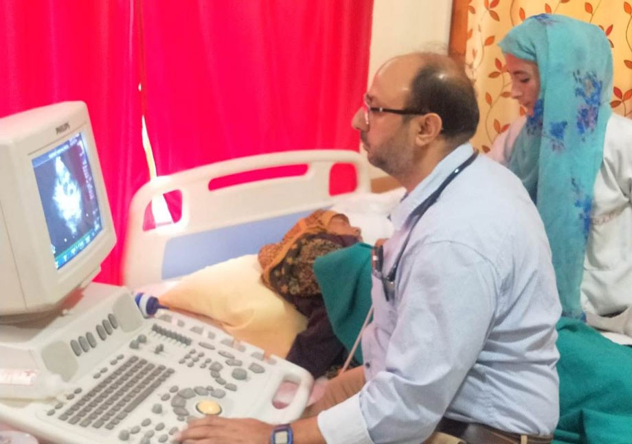 Two-day super-specialty health camp held in Sankoo