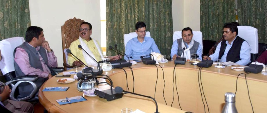 Meeting held to boost Tourism, Industries sector in Kargil