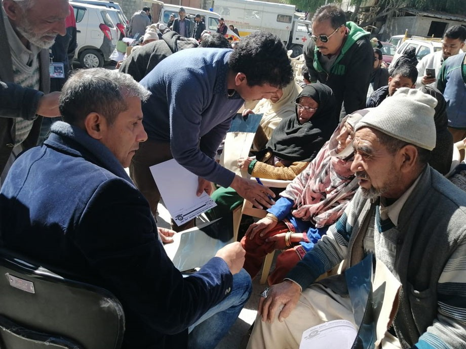 Two-day free knee camp concluded in Kargil