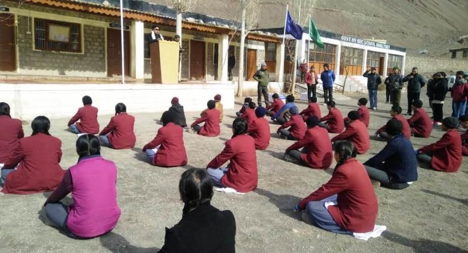 Gyal P Wangyal visits villages of Sham region