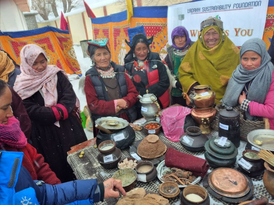 Traditional food festival Mamani celebrated with enthusiasm in Kargil